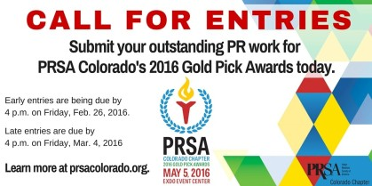 PRSA Gold Pick CFE